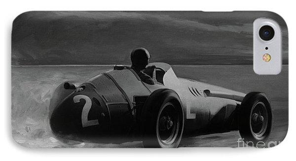 Juan Manuel Fangio IPhone Case by Artem Oleynik