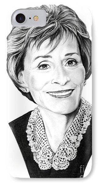 Judge Judith Sheindlin Phone Case by Murphy Elliott