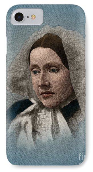 Julia Ward Howe, American Abolitionist IPhone Case by Science Source