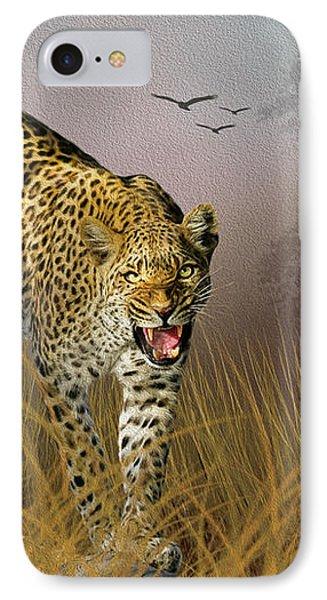 Jungle Attitude IPhone Case by Diane Schuster