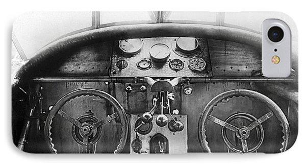 Junker Plane Cockpit IPhone Case by Underwood Archives