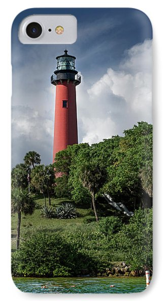 Jupiter Inlet Lighthouse IPhone Case by Laura Fasulo