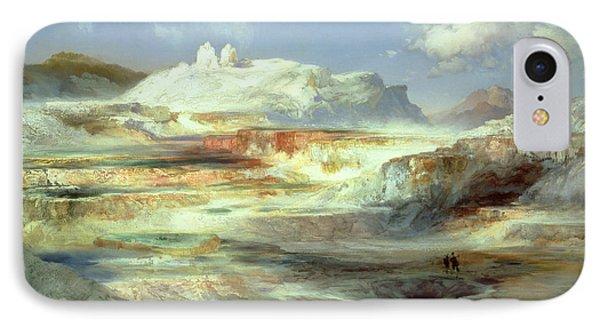 Jupiter Terrace IPhone Case by Thomas Moran