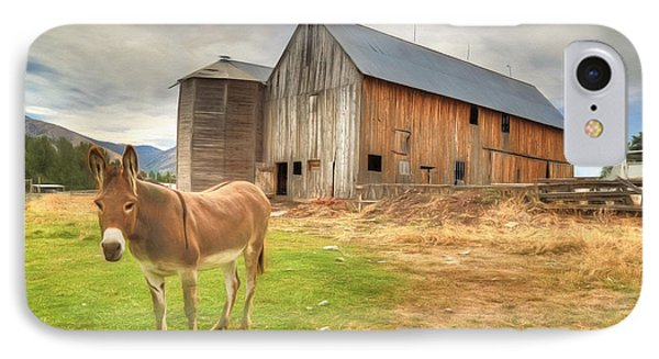 Just Another Day On The Farm IPhone 7 Case by Donna Kennedy
