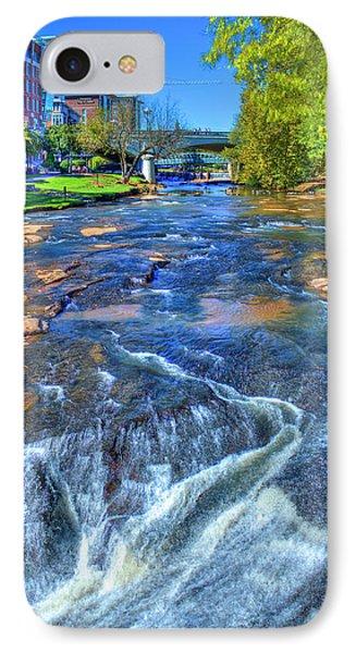 Just Passing Thru Reedy River Greenville South Carolina Art IPhone Case by Reid Callaway