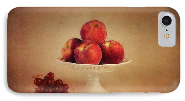 Just Peachy IPhone Case by Tom Mc Nemar