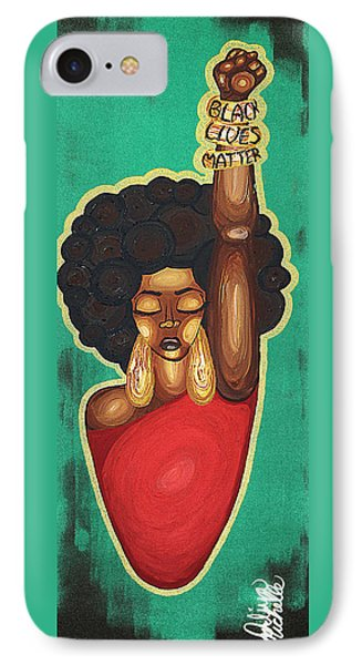 Justice Wanted IPhone Case by Aliya Michelle