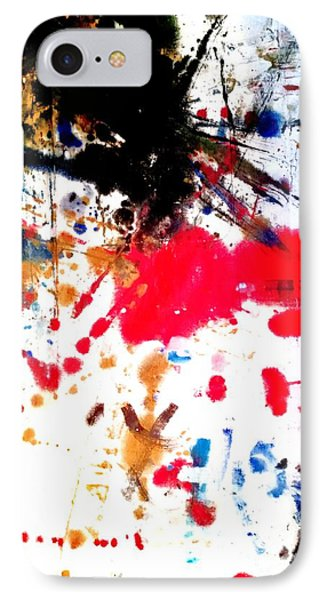 Kamor Abstract IPhone Case by Amy Sorrell
