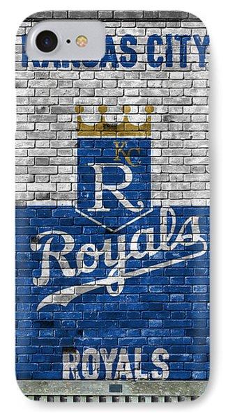 Kansas City Royals Brick Wall IPhone Case by Joe Hamilton