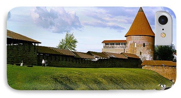 Kaunas Castle Phone Case by Arvydas Kantautas