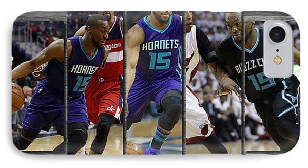 Kemba Walker Charlotte Hornets IPhone Case by Joe Hamilton