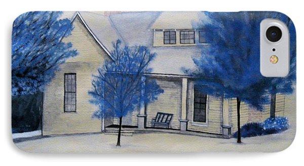 Kennedy Home IPhone Case by PJ Boyd