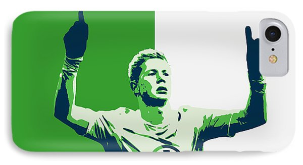 Kevin De Bruyne IPhone Case by Semih Yurdabak