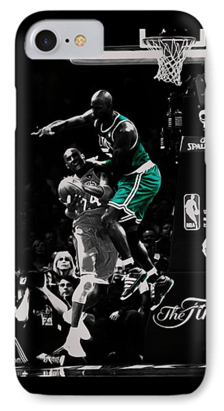 Kevin Garnett Not In Here IPhone Case by Brian Reaves