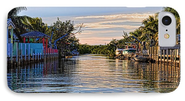 Key Largo Canal Phone Case by Chris Thaxter