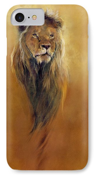 King Leo IPhone Case by Odile Kidd
