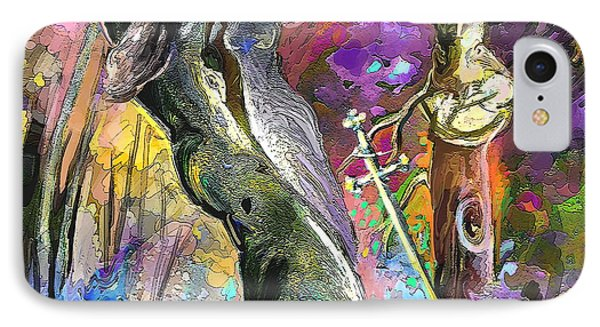 King Solomon And The Two Mothers Phone Case by Miki De Goodaboom