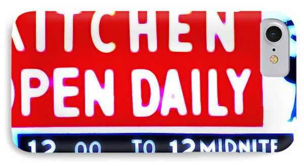 Kitchen Open Daily Phone Case by Bill Cannon
