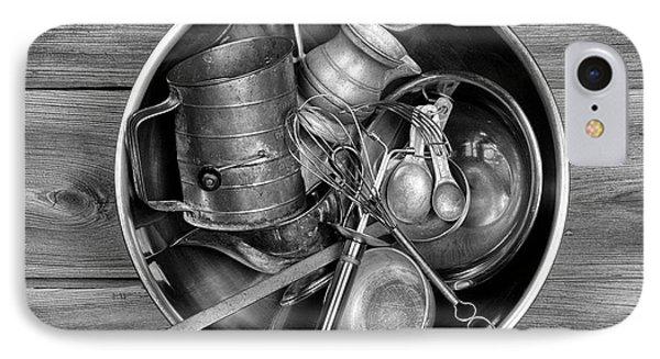 Kitchen Utensils Still Life I IPhone Case by Tom Mc Nemar
