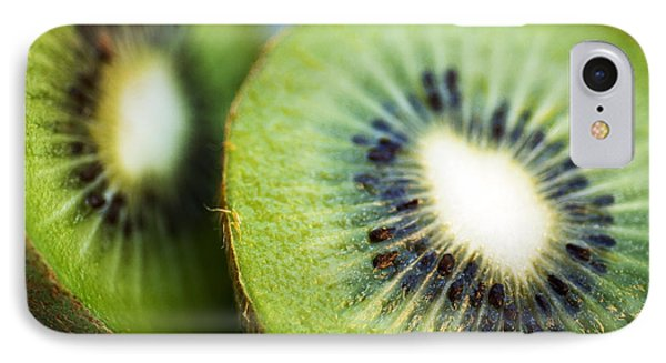 Kiwi Fruit Halves IPhone Case by Ray Laskowitz - Printscapes