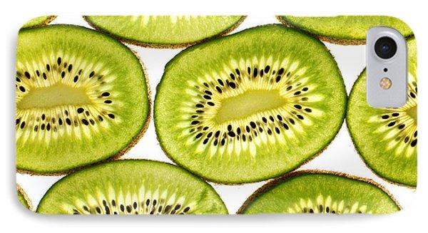 Kiwi Fruit II IPhone Case by Paul Ge