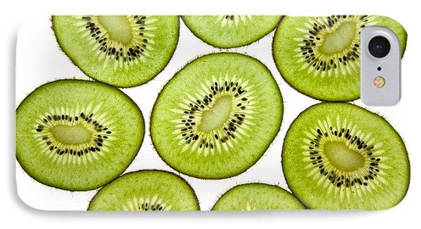 Kiwifruit IPhone Case by Nailia Schwarz