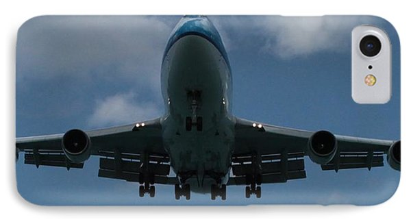 Klm Boeing 747 IPhone Case by Christopher Kirby