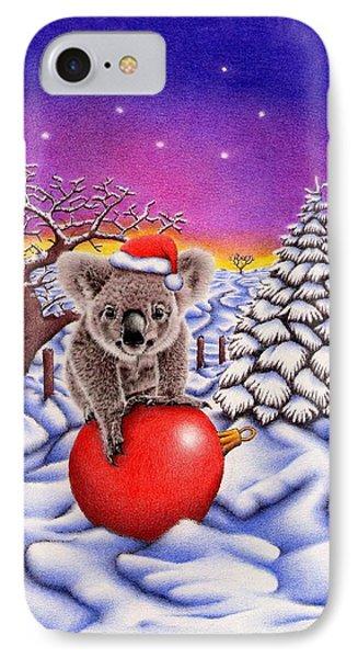 Koala On Ball IPhone 7 Case by Remrov