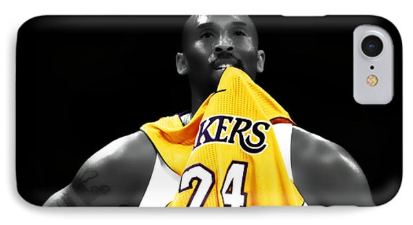 Kobe Bryant 04c IPhone 7 Case by Brian Reaves