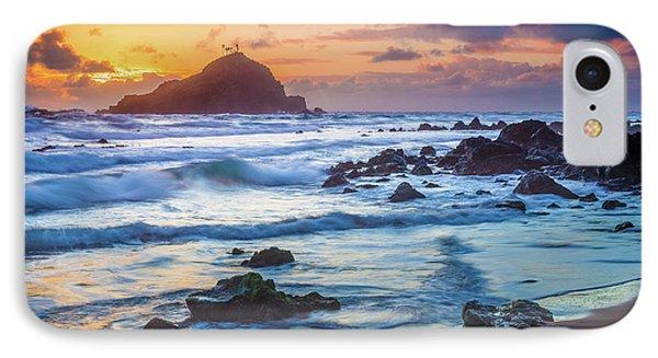 Koki Beach Harmony Phone Case by Inge Johnsson