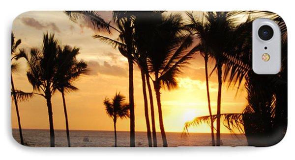 Kona Sunset IPhone Case by Paulette B Wright