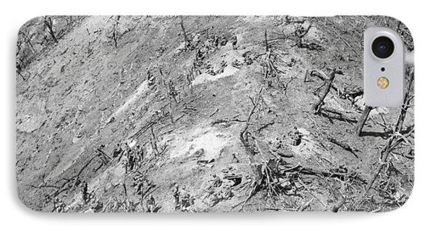 Korean War: Bloody Ridge Phone Case by Granger