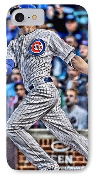 Kris Bryant Chicago Cubs IPhone 7 Case by Joe Hamilton