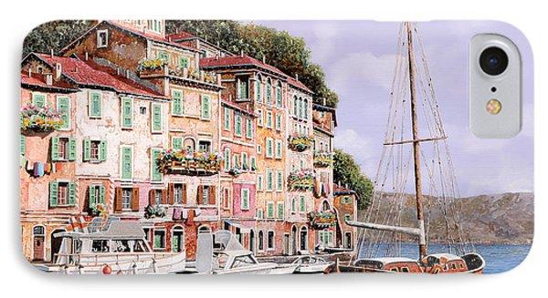 La Barca Rossa Alla Calata Phone Case by Guido Borelli