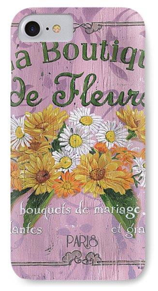 La Botanique 1 IPhone Case by Debbie DeWitt