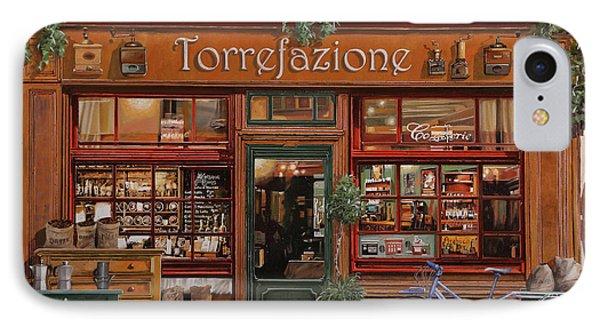 La Torrefazione IPhone Case by Guido Borelli