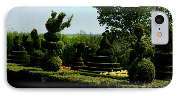 Ladew Topiary Gardens Phone Case by Ruth  Housley