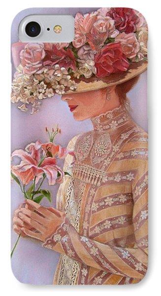 Lady Jessica IPhone Case by Sue Halstenberg