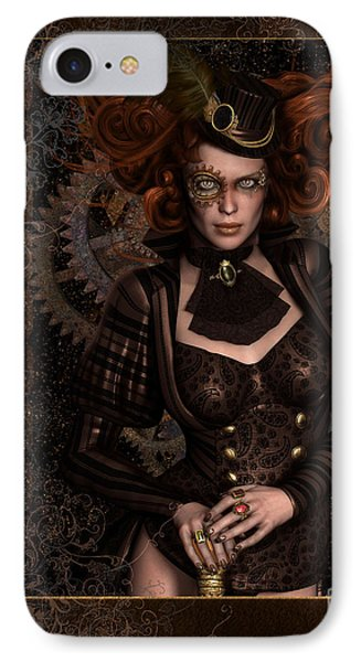 Lady Steampunk IPhone Case by Shanina Conway