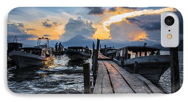 Lake Atitlan IPhone Case by Yuri Santin