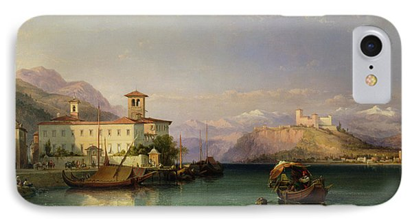 Lake Maggiore IPhone Case by George Edwards Hering