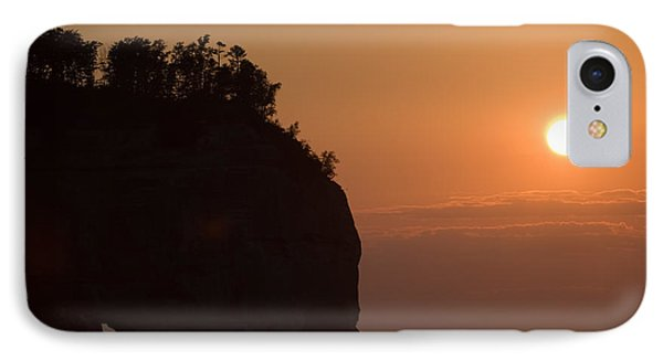 Lake Superior Sunset IPhone Case by Sebastian Musial