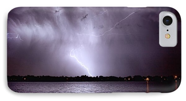 Lake Thunderstorm Phone Case by James BO  Insogna