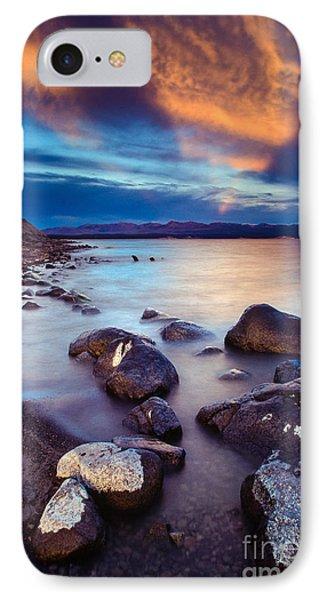 Lake Yellowstone IPhone Case by Inge Johnsson