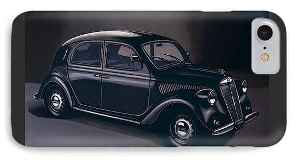 Lancia Ardea 1939 Painting IPhone Case by Paul Meijering