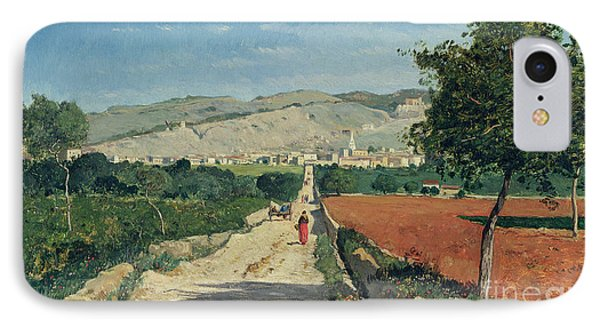 Landscape In Provence IPhone Case by Paul Camille Guigou