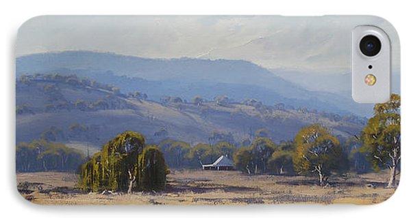 Landscape Paintings IPhone Case by Graham Gercken