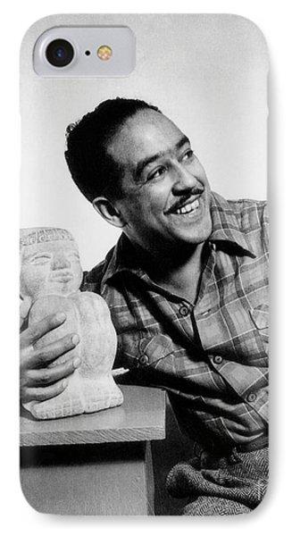 Langston Hughes (1902-1967) IPhone Case by Granger