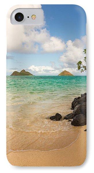 Lanikai Beach 1 - Oahu Hawaii IPhone Case by Brian Harig
