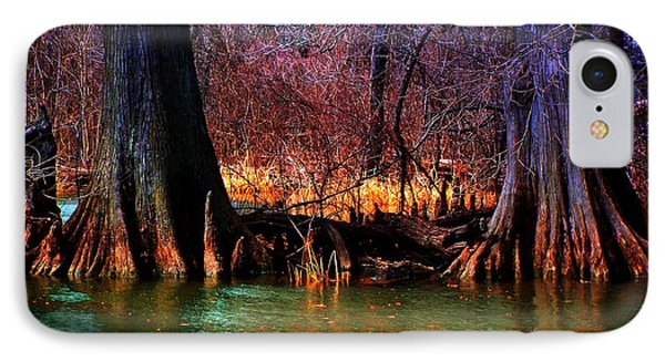Late Evening In Reelfoot IPhone Case by Julie Dant